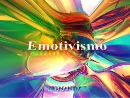 EMOTIVISMO