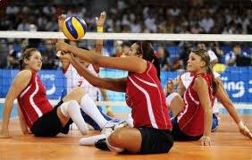 el voleibol sentado