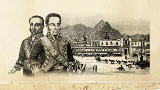 7) El motín de Aznapuquio (29 de enero de 1821).