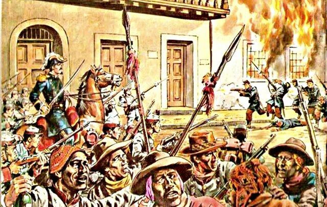 Sublevacion en Huanuco por los indios de Pillao y otros.
