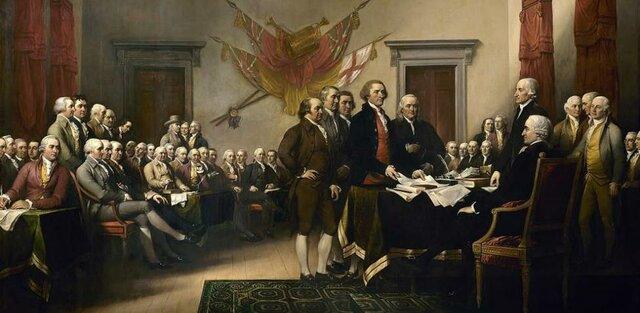La independencia de Estados Unidos