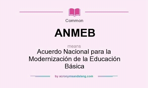 1992 Firma del ANMEB