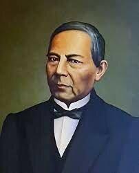 Benito Juárez presidente de México pronunciaba ante el Congreso su frase célebre