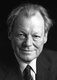 Willy Brandt recibe el premio Nobel de la paz