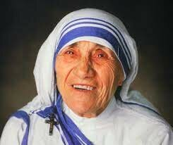 Madre Teresa de Calcuta recibe el premio Nobel de la paz