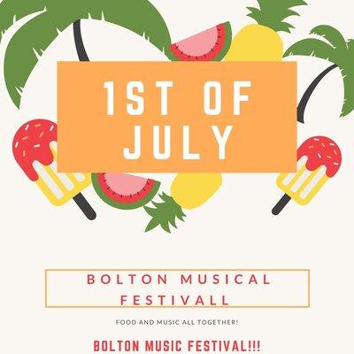 bolton musical festival timeline