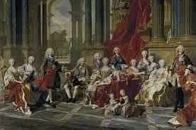 Los Borbones y los Habsburgos pelean por el trono