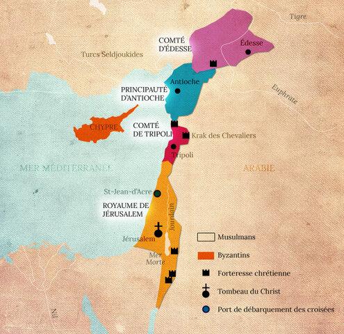 1096-1099: La première croisade