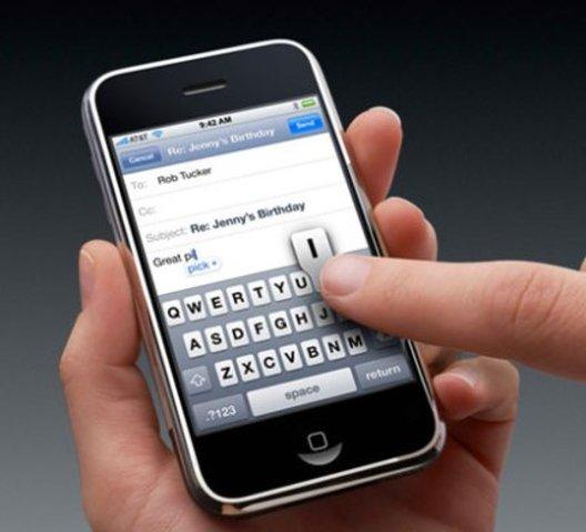 Mi primer móvil tactil