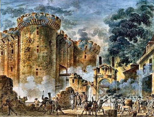 1789: Début de la Révolution française