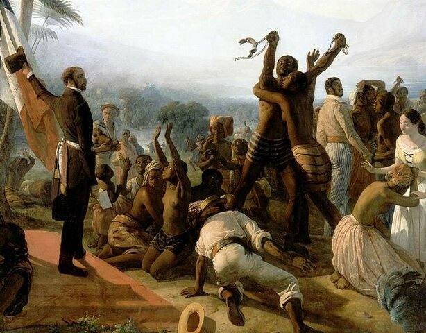 1848: Abolition de l'esclavage et suffrage universel masculin