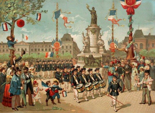 1870: Naissance de la Troisième République.