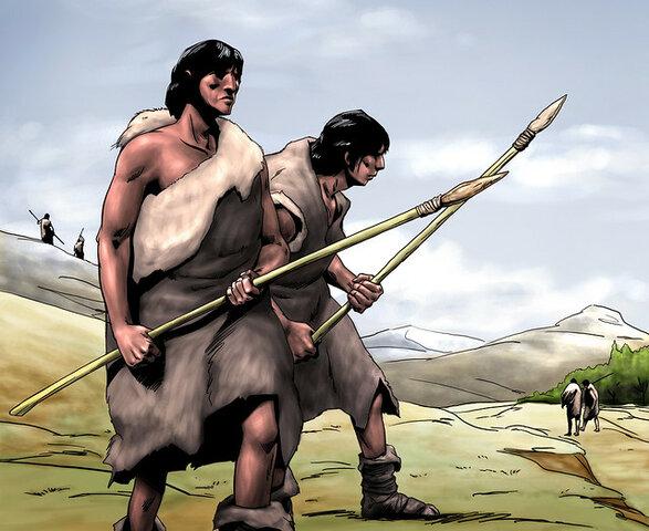 los primeros habitantes del continente americano