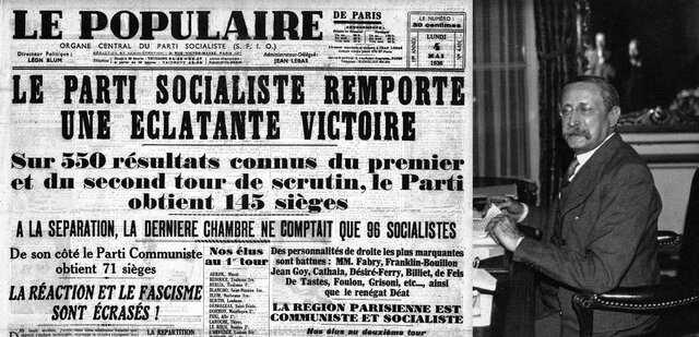 1936: Montée au pouvoir du front populaire