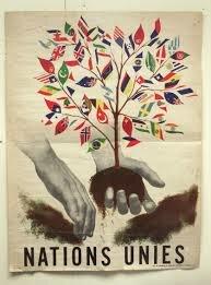 1945: Création de l'ONU
