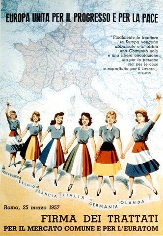 1957: Traité de Rome et création de la CEE