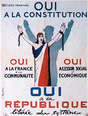 1958: Fondation de la Vème République