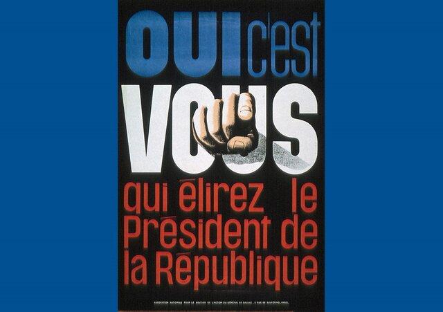 1962: Le Président est élu au suffrage universel direct