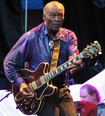Chuck Berry's 'Maybellene' is released