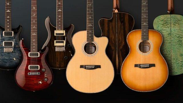 Tipos de guitarra en la actualidad