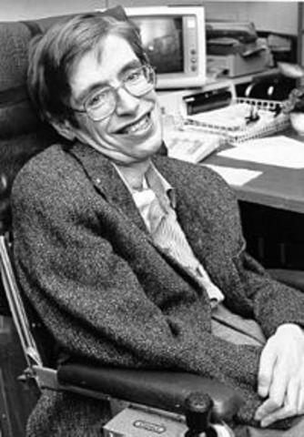 Stephen Hawking ontdekte veel in ruimtegebuirtenisen