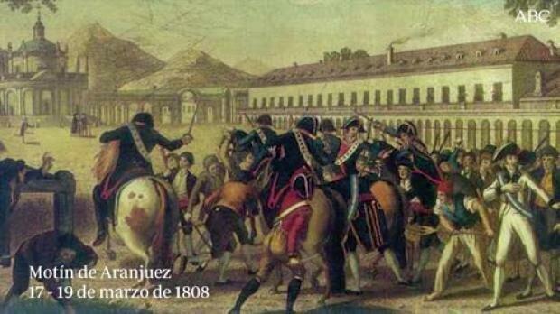 La caída de Fernando VII