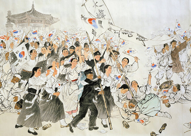 March 1st movement (both Korea's)