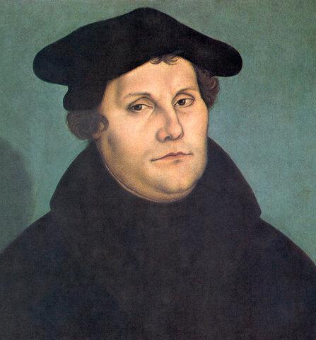 Martin Luther's Ein feste Burg ist er Gott