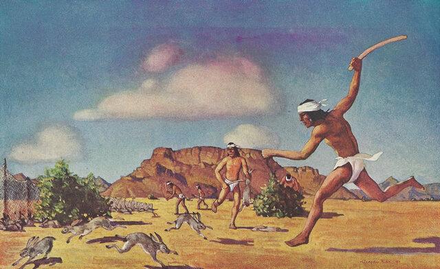los  cazadores-recolectores