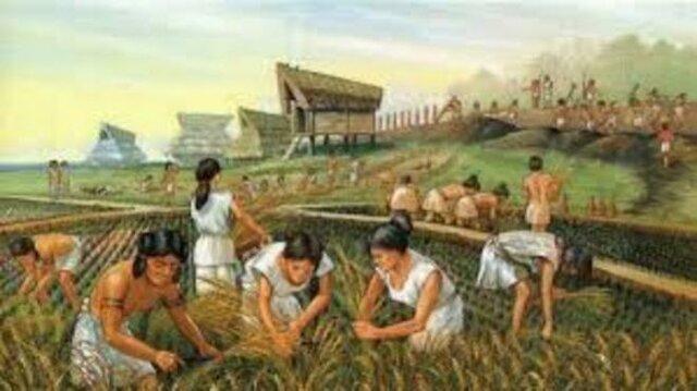 los plueblos agricultores