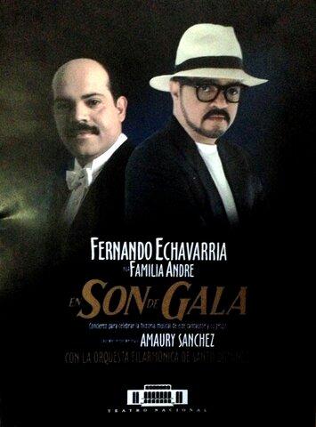 """Concierto """"Son de Gala"""". Teatro Nacional, con la Orquesta Sinfónica Nacional bajo la dirección de Amaury Sánchez, 2001."""
