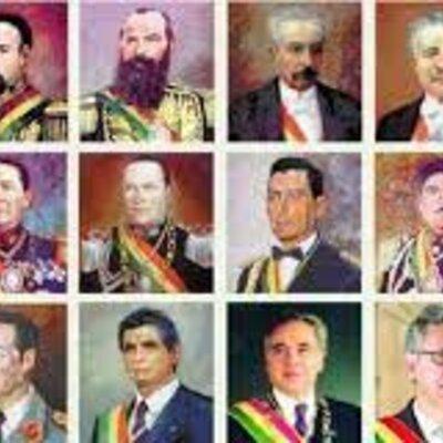 GOBIERNOS QUE CIMENTARON BOLIVIA (1825-1841) timeline