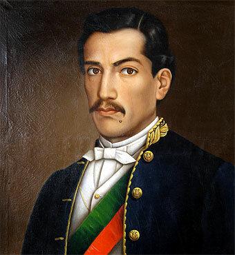 José Miguel de Velasco Franco. (Lozano) - Primera Presidencia.