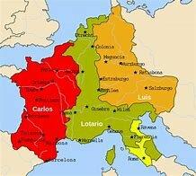 División Del Imperio Carolingio