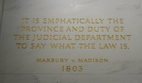 Marbury vs Madison
