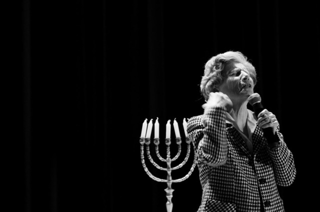 Became a highly sought-after speaker on the Holocaust