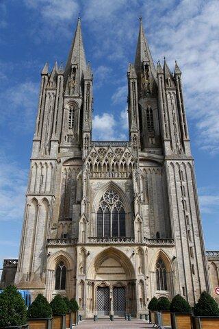 Catedral de Coutances.