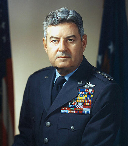 Curtis LeMay. (1906-1990).