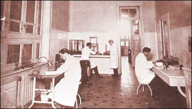 Fundacion del Instituto Bacteriologico Nacional