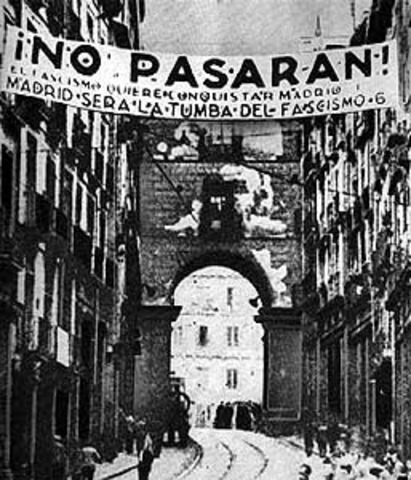 Estallido de la Guerra Civil Española