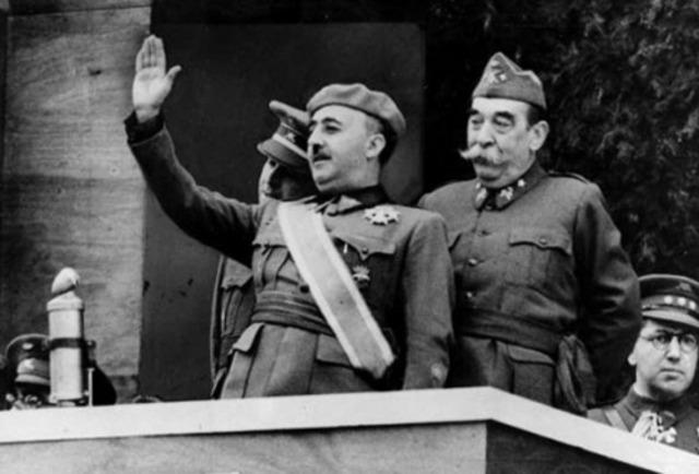 Comienzo del Régimen franquista