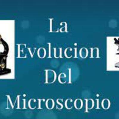 Evoluciòn del microscopio timeline