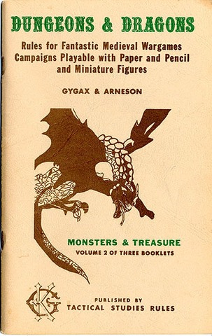 OD&D First Published
