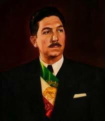 Miguel Alemán Valdez, presidente constitucional de los estados unidos mexicanos.