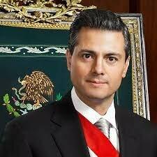 Enrique Peña Nieto, presidente constitucional de los estados unidos mexicanos.