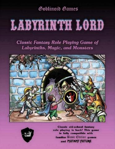 Labyrinth Lord Retro Clone First Published