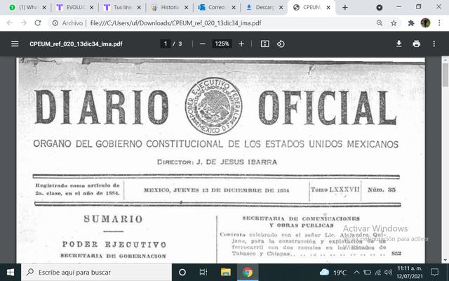 GOBIERNO DE LAZARO CARDENAS