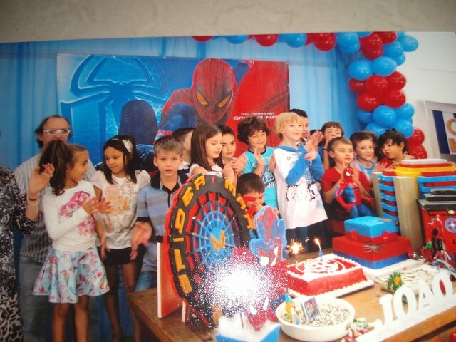 My firt birthday's party with all friends