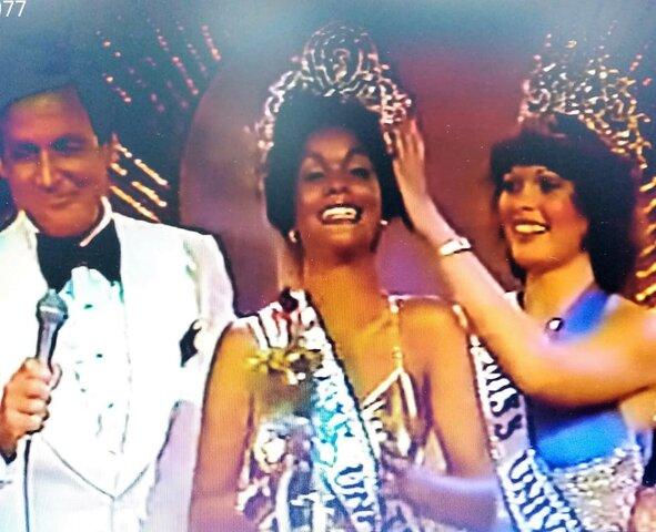 "Concurso internacional ""Miss Universo 1977""  en Rep. Dominicana."