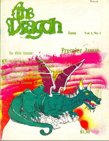 First Issue of Dragon Published